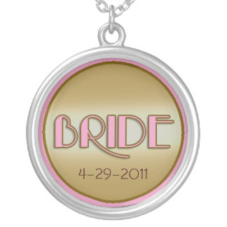 BRIDE Necklace with Custom Date
