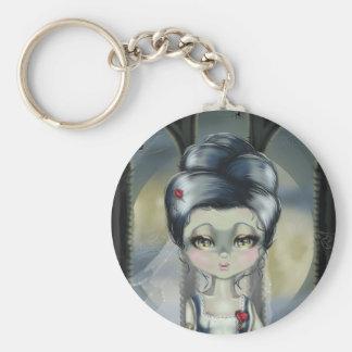 Bride of Franken Keychain