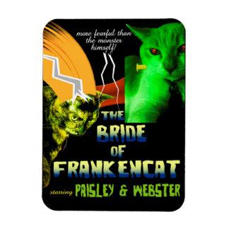 Bride of Frankencat Magnet