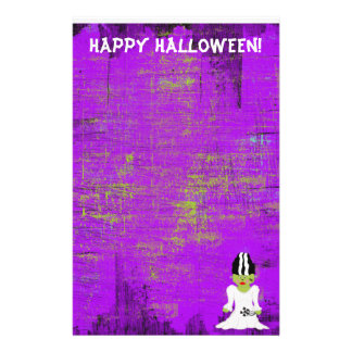 Bride Of Frankenstein Halloween Stationery