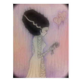 Bride of Frankenstein Postcard