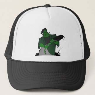 Bride of Frankenstein Trucker Hat