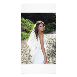 Bride on the road photo cards