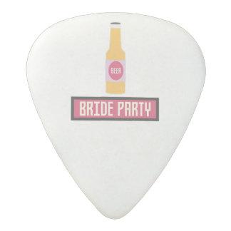 Bride Party Beer Bottle Z6542 Acetal Guitar Pick
