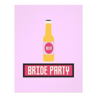 Bride Party Beer Bottle Z6542 Flyer