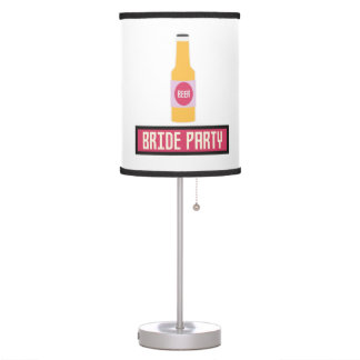 Bride Party Beer Bottle Z6542 Table Lamp