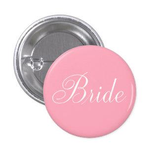 Bride pink button