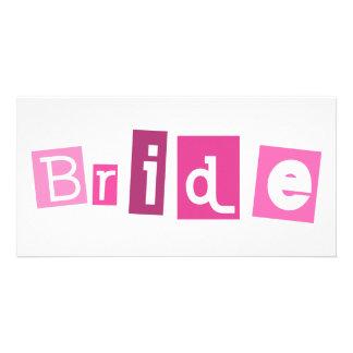 Bride Pink design! Photo Cards