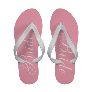 Bride pink sandals