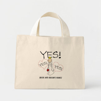 Bride Says YES Customizable Tote Bag