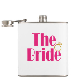 Bride-set-PINK.gif Hip Flask