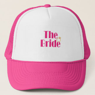 Bride-set-PINK.gif Trucker Hat