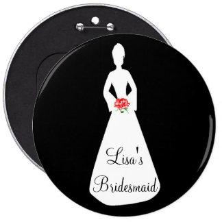Bride Silhouette I Pin