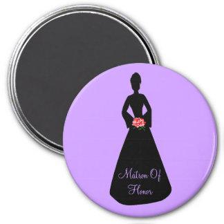 Bride Silhouette Magnet