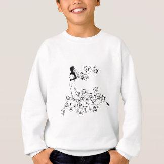 Bride Silhouette Wedding Concept Sweatshirt