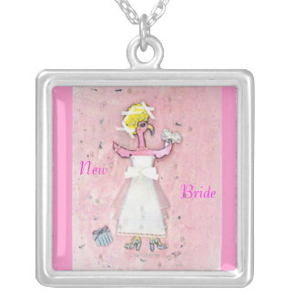 Bride Silver Plated Necklace