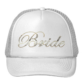 Bride Silver Trucker Hat
