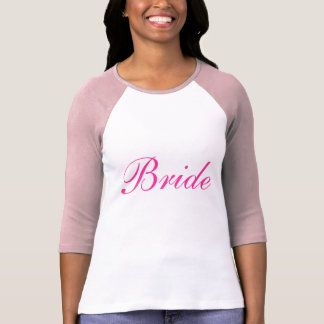 Bride Softball Tee Shirt