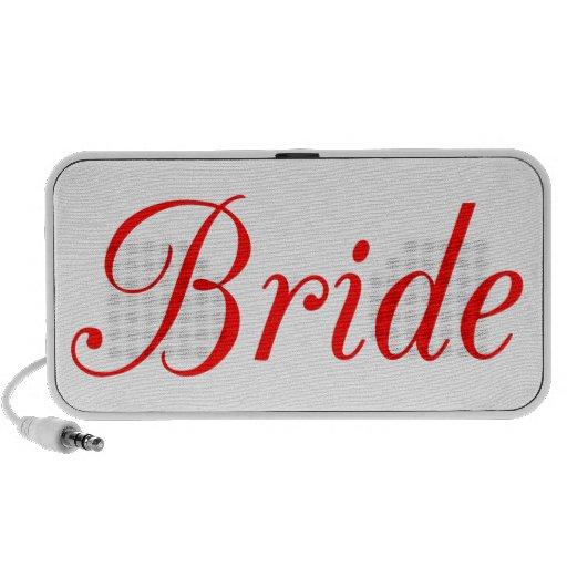 Bride Notebook Speaker