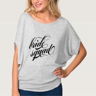 Bride Squad BLACK & gray t-shirt cute top gift