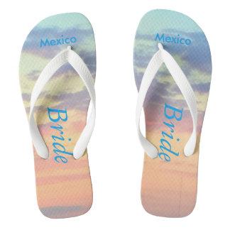 Bride Sunset Beach Sandals Flip Flops