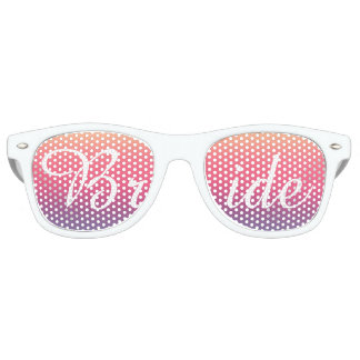 Bride Sunset Watercolor Ombre Purple Beach Party Shades