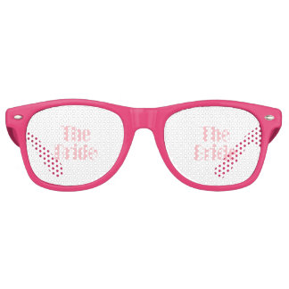 Bride Swag Baby Pink Party Shades
