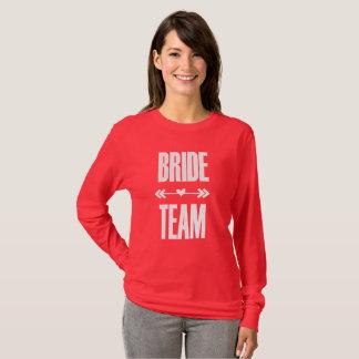 Bride Team Bachelorette Party Tshirt