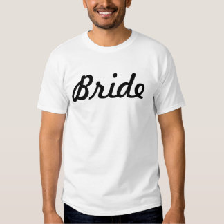 Bride tee for bachlorette party