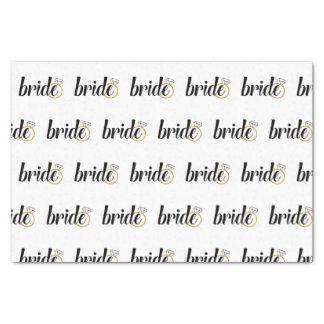 Bride Tissue Paper