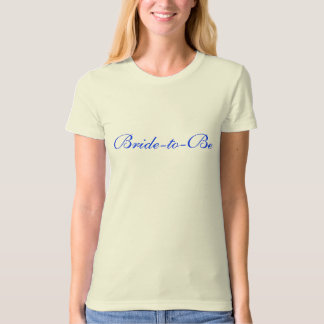 Bride-to-Be Babydoll T-Shirt