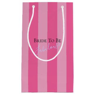 Bride To Be Celebration Fabulous Party Gift Bags