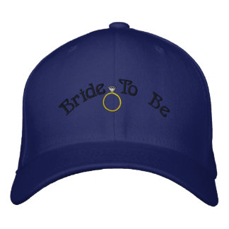Bride To Be Embroidered Hat