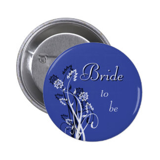 Bride to Be Pin - Dark Blue