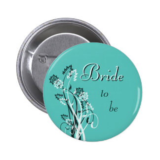 Bride to Be Pin - Turquoise