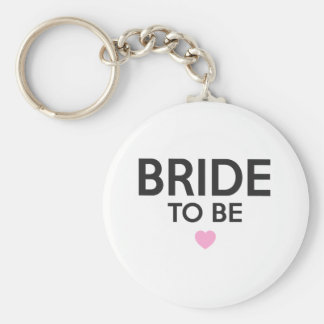 Bride To Be Print Keychain