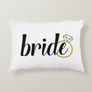 Bride to Be Wedding Pillow
