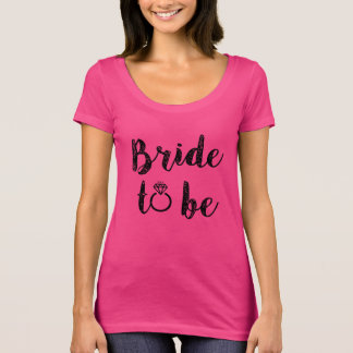 Bride to be women's shirt