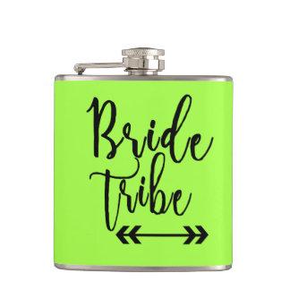 Bride Tribe Bachelorette Wedding Vinyl Flask