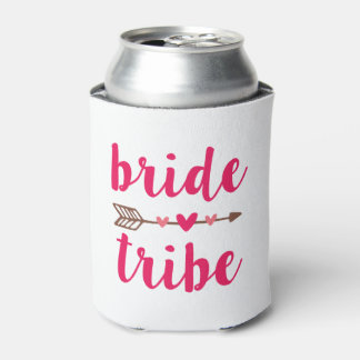 Bride Tribe Bridesmaid can cooler