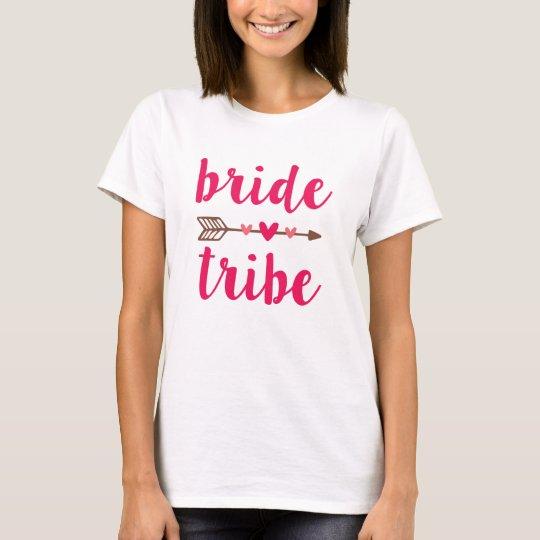 Bride Tribe Bridesmaid women's shirt