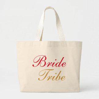 Bride Tribe Gold Large Tote Bag