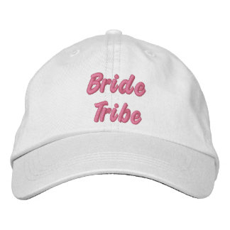 Bride Tribe Hat Embroidered Hats