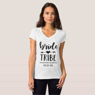 Bride Tribe Personalized Bachelorette Shirt