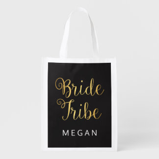 Bride Tribe Personalized Market Tote