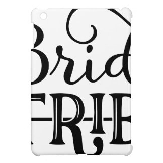 Bride Tribe Wedding Party iPad Mini Covers