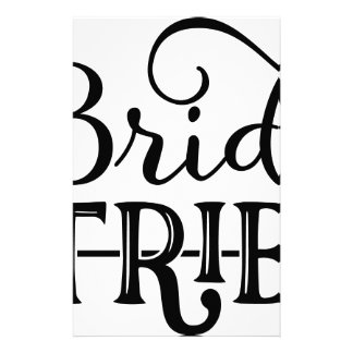 Bride Tribe Wedding Party Stationery
