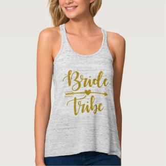 Bride Tribe with arrow Tank Top
