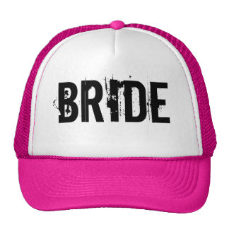 BRIDE TRUCKER HAT PINK