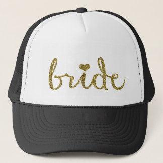 Bride Trucker's Hat Wedding Bachelorette Hat